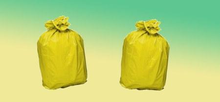 A propos des sacs poubelles