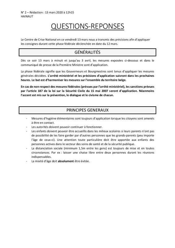 Questions réponses HAINAUT N1   13 mars 2020 ellezelles page 001
