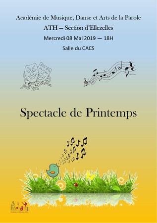 Spectacle de printemps de l'académie de Musique