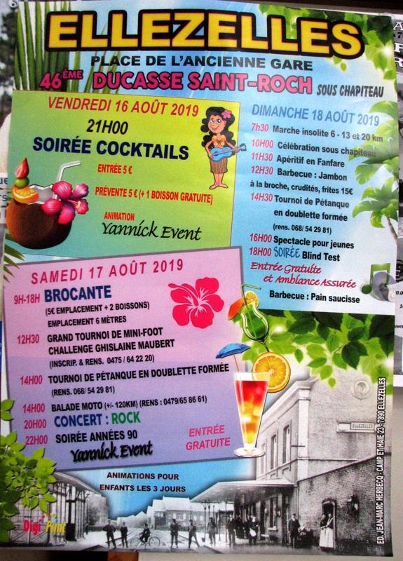 Ducasse St Roch 2019