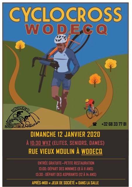 cyclo cross Wodecq