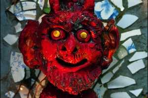gros plan diable rouge