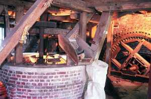 interieur moulin tordoir