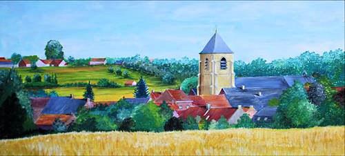 peinture christian pieman centre village ellezelles